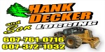 Hank Decker & Son Logging Logo