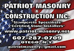 Patriot Masonry Logo